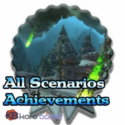 Buy All Scenarios Achievements Boost cheap boost service or carry run