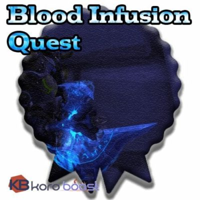 Buy Blood Infusion Quest Boost for Shadowmorn cheap boost service or carry run