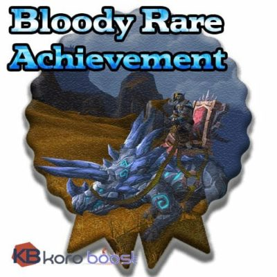 Buy Bloody Rare Achievement Boost cheap boost service or carry run
