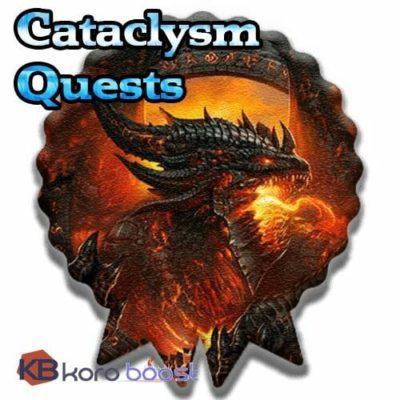 Cataclysm Quests Achievements Boost