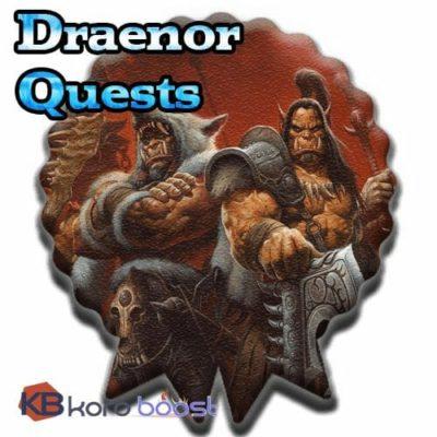 Draenor Quests Achievements Boost