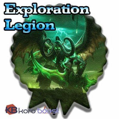 Exploration Achievements In Legion
