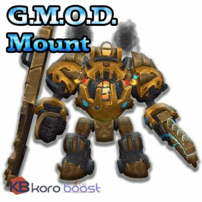 Buy G.M.O.D. mount cheap boost service or carry run