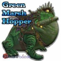 Green Marsh Hopper Mount