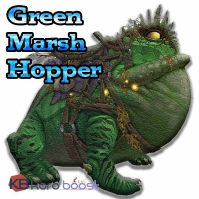 Green Marsh Hopper Mount