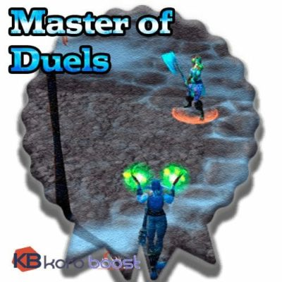 Buy Master of Duels Achievement cheap boost service or carry run