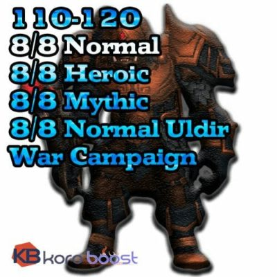 Buy Uldir Starter Package cheap boost service or carry run