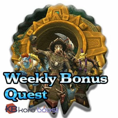 Buy Weekly Bonus Quest cheap boost service or carry run