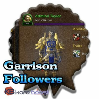 Buy Garrison Followers Achievements Boost cheap boost service or carry run