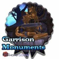 Garrison Monuments Achievements Boost