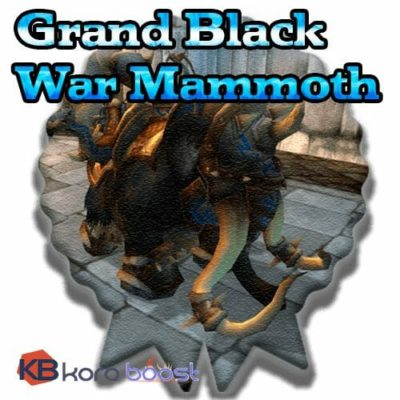 Reins of the Grand Black War Mammoth