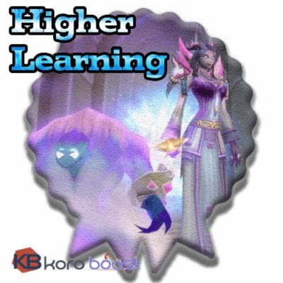 Higher Learning Achievements Boost