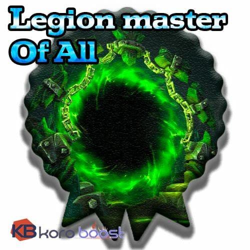 Legion Master of All