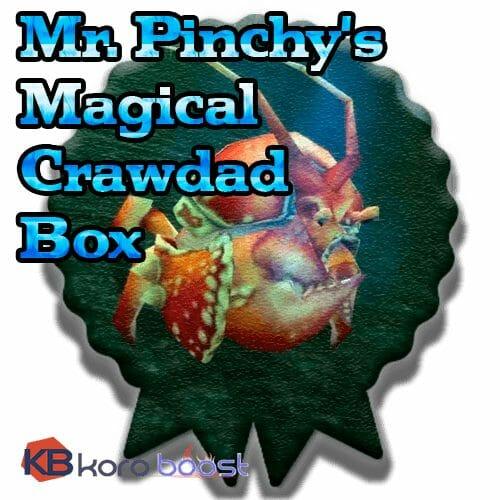 Mr. Pinchy's Magical Crawdad Box