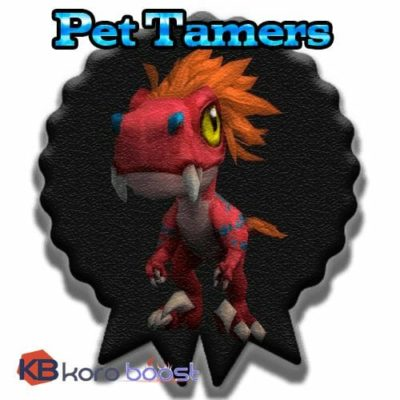 Buy Pet tamers cheap boost service or carry run