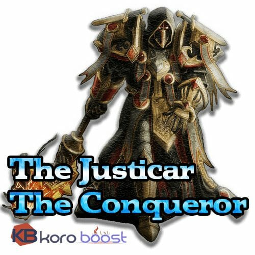 The Justicar/The Conqueror Achievement Boost