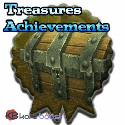 Buy Treasures Achievements cheap boost service or carry run