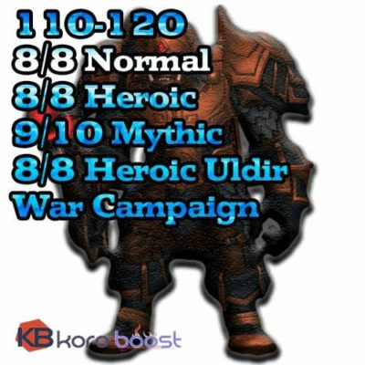 Buy Uldir Pro Package cheap boost service or carry run