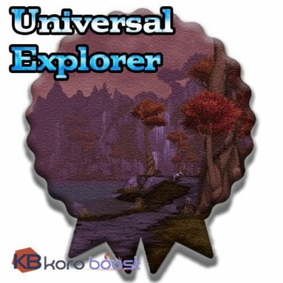 Buy Universal Explorer Achievement Boost cheap boost service or carry run