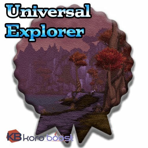 Universal Explorer Achievement Boost