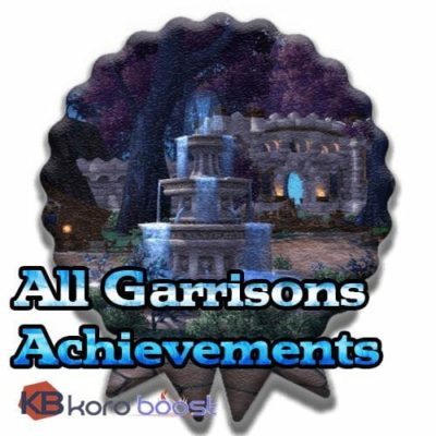 Buy Whole Garrisons Achievements Boost cheap boost service or carry run