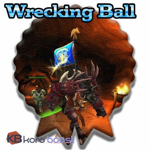 Wrecking Ball Achievement Boost
