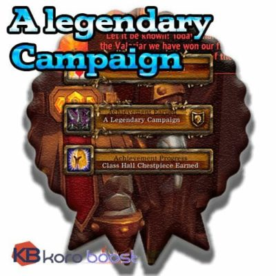 Buy A Legendary Campaign cheap boost service or carry run
