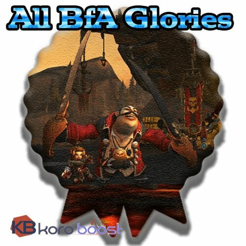 All BFA Glories Package