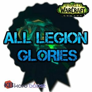 Buy All Legion Glories Package cheap boost service or carry run