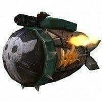 Depleted-Kyparium Rocket