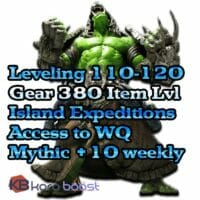 BFA Leveling + Gear Starter Package