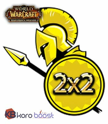 Buy Arena Rating boost 2 x 2 cheap boost service or carry run
