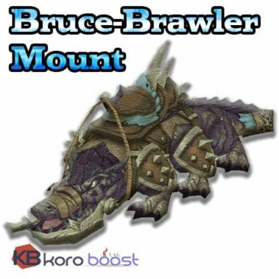 Bruce Mount from Brawler Guild Boost (Battle for Azeroth)