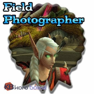 Buy Field Photographer Boost cheap boost service or carry run
