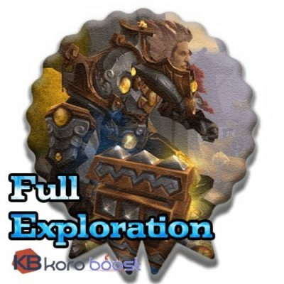 Full Exploration Achievements Boost