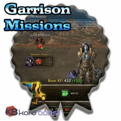 Buy Garrison Missions  Achievements Boost cheap boost service or carry run