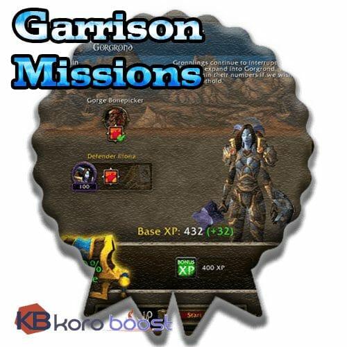 Garrison Missions Achievements Boost