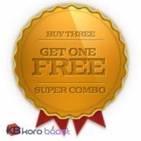 Buy three - get one free (Battle of Dazar'alor heroic full runs)