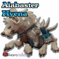Alabaster Hyena