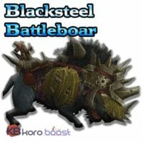 Blacksteel Battleboar Mount Service