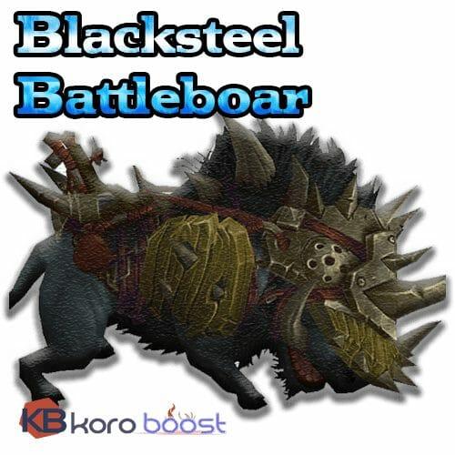Blacksteel Battleboar Mount Service