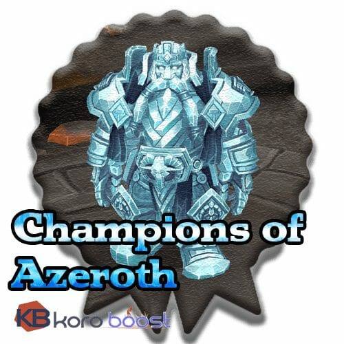 Battle for Azeroth Reputations