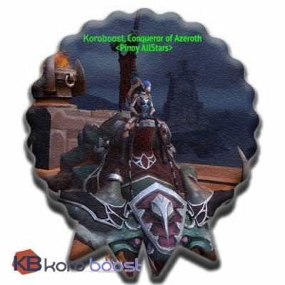 Conqueror Of Azeroth Achievement Boost