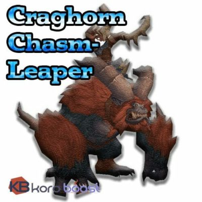 Buy Craghorn Chasm-Leaper Mount Boost cheap boost service or carry run