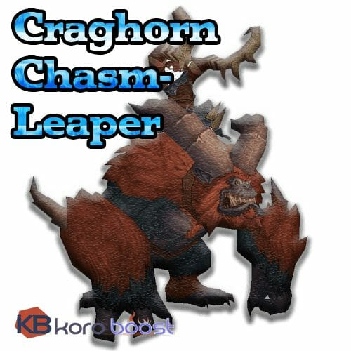 Craghorn Chasm-Leaper Mount Boost