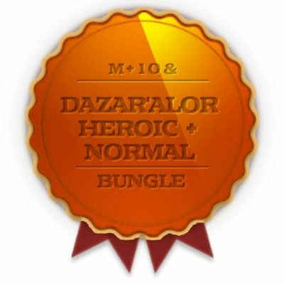 Buy Dazar'Alor Heroic + Normal + 10 weekly Chest Bundle cheap boost service or carry run