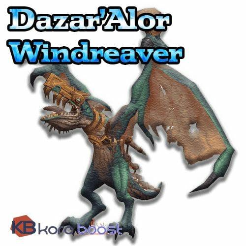 Dazar'Alor Windreaver Mount Boost