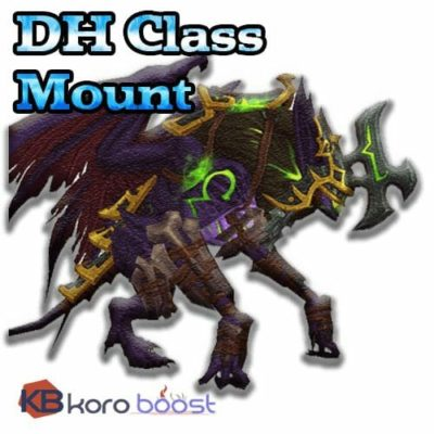 Class Mount - Demon Hunter, Legionfall campaign