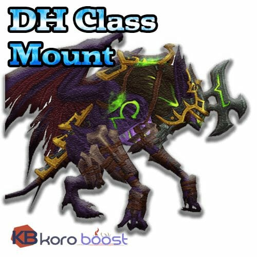 Class Mount - Demon Hunter, Legionfall campaign