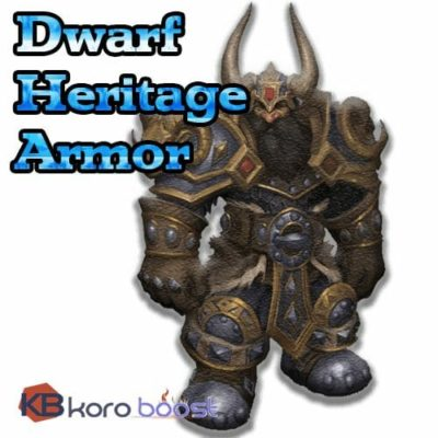 Buy Dwarf Heritage Armor Boost cheap boost service or carry run